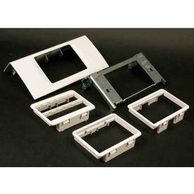 "Wiremold Ds4047mab-Dg Single Channel Mab Device, Designer Gray, 6""L - Pkg Qty 10"