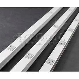 Wiremold G20gb606 Plugmold, 125v, 15a, 6'L - Min Qty 10