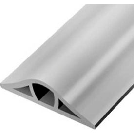 Wiremold GR1200-50 Corduct Overfloor Cable Protection System, Gray, 50' Roll Package Count 50 by