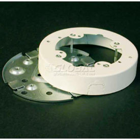 """Wiremold V5738a Fixture Box Solid Base, Ivory, 5-1/2""""L - Pkg Qty 5"""