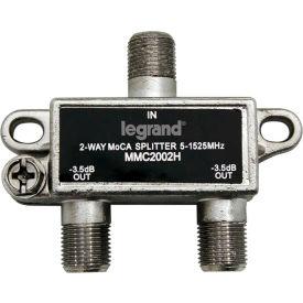 Legrand® VM2202-V1 2-Way Digital Cable Splitter w/ Coax Network Support