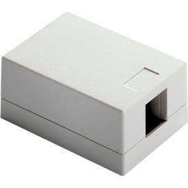 Legrand® WP3501-WH Surface Mount Box, 1-Port, White - Pkg Qty 10