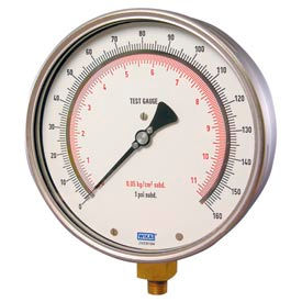 "6"" Type 312.20 200PSI Gauge - 1/4"" NPT LM Stainless Steel"
