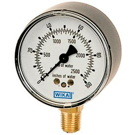 "2.5"" Type 611.10 5PSI Gauge - 1/4"" NPT CBM Steel"