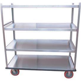 Winholt® 4 Shelf Aluminum Banquet Truck BNQT-4
