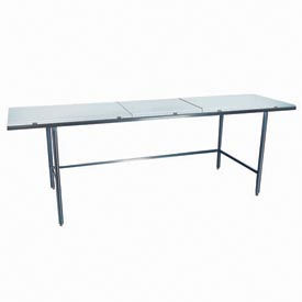 "Winholt Equipment DPTR-2472 24""W x 72""L Work Table with Poly Top"