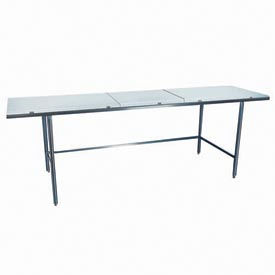 "Winholt Equipment DPTR-2484 24""W x 84""L Work Table with Poly Top"