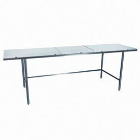 "Winholt Equipment DPTR-3672 36""W x 72""L Work Table with Poly Top"