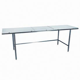 "Winholt Equipment DPTR-3684 36""W x 84""L Work Table with Poly Top"