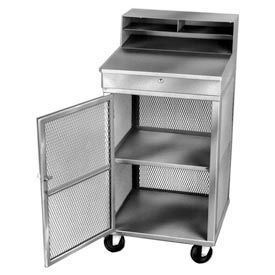Receiving / Shop Desk, Gray