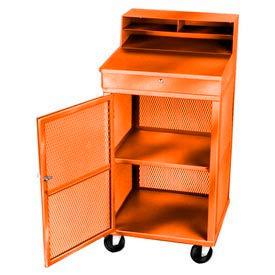 Receiving/Shop Desk, Orange