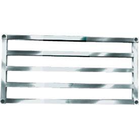 "Sani-Adjustable Aluminum Tubular Shelf, 18"" x 60"""