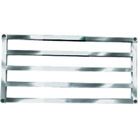 "Sani-Adjustable Aluminum Tubular Shelf, 20"" x 36"""