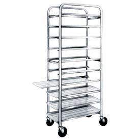 "Winholt SS-1012, Stainless Steel Platter Cart, 10 Trays, 12"""