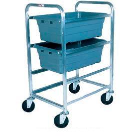 "Winholt Mobile Stainless Steel Lug Cart SS-L-3 Capacity 3 Lug, 27""L x 19""W x 41""H, No Lugs"