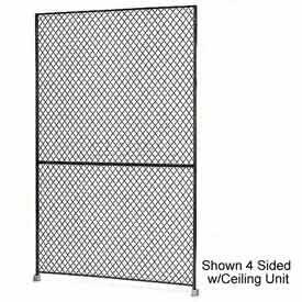 "Husky Rack & Wire 1-1/2"" Wire Mesh Panel 3' Wide x 7' Tall"