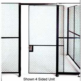 Husky Rack & Wire Single Swing Door 3' Wide x 7' Tall