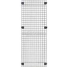 "Husky Rack & Wire, Velox, Machine Guard, Panel, 1' 10""W x 5' 6""H, Black"