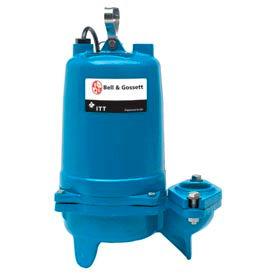 "Bell & Gossett 2WF2034H 2"" Submersible Sewage Pump - 2 HP- 3500 RPM- 460V- 5.8 Amps"