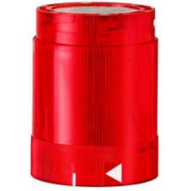 Werma 84811075 LED Blinking Light Element 24V AC/DC, IP54, Red 25 Ma