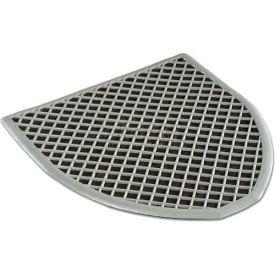 Disposable Black Laminated Urinal Mat, DRIPB, 6 Pack