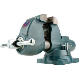 """Wilton 10275 Model C-3 6"""" Jaw Width 6-5/8"""" Throat Combination Pipe & Bench Vise W/ Swivel Base"""