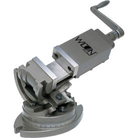 "Wilton 11700 Model TLT/SP-50 2"" Jaw Width 1"" Jaw Depth 3-Axis Precision Tilting Vise"