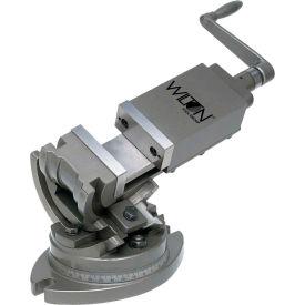 "Wilton 11702 TLT/SP-100 4"" Jaw Width 1-1/2"" Jaw Depth 3-Axis Precision Tilting Vise"