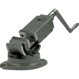 """Wilton 11706 Model AMV/SP-125 5"""" Jaw Width 1-3/4"""" Jaw Depth 2-Axis Precision Angular Vise"""
