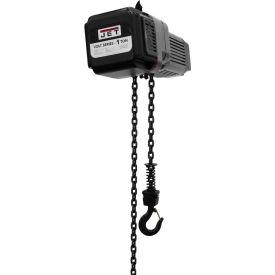 JET® VOLT Series Electric Chain Hoist 1 Ton, 15 Ft. Lift, 1/3 Phase, 230V