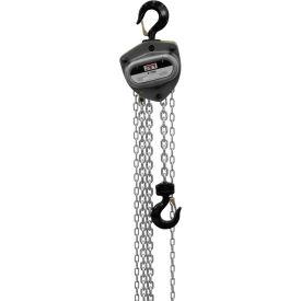JET® L100 Series Manual Chain Hoist w/Overload Protection 2 Ton,15 Ft Lift