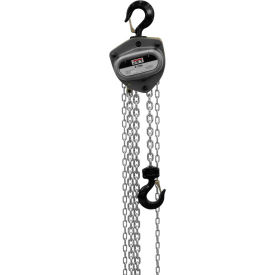 JET® L100 Series Manual Chain Hoist w/Overload Protection 2 Ton,30 Ft Lift