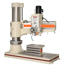 JET 320038 Model J-1600R 7.5HP 230V 5' Arm Radial Drill Press