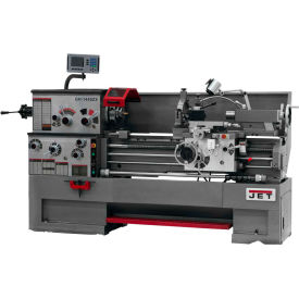 Jet 321508 GH-1640ZX Large Spindle Bore Lathe W/Acu-Rite 200S DRO & Taper Attachment, 7-1/2 HP