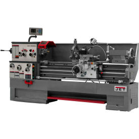 Jet 321543 GH-1660ZX Large Spindle Bore Lathe W/Acu-Rite 200S DRO & Taper Attachment, 7-1/2 HP
