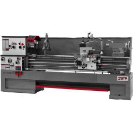 Jet 321575 GH-2280ZX Large Spindle Bore Lathe W/Taper Attachment & Collet Closer, 10 HP