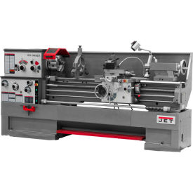Jet 321591 GH-1860ZX Large Spindle Bore Lathe W/Acu-Rite 300S DRO & Taper Attachment, 7-1/2 HP