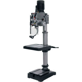 Jet 354024 GHD-20PF Geared Head Drill Press W/Powerfeed, 230V, 3-Phase
