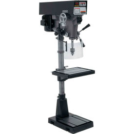 Jet 354551 J-A5818 15 Variable Speed Floor Model Drill Press, 230/460V