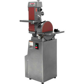 Jet 414553 J-4202A Industrial Combo Belt & Disc Finishing Machine, 230V, 3-Phase