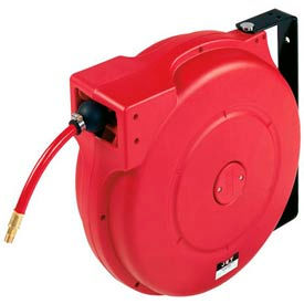 """JET 426237 Model PHR-50 3/8""""x50' Poly Hose Reel for Air or Water"""