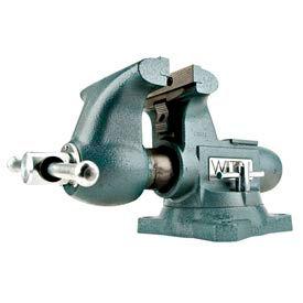 """Wilton 63202 Model 1780A 8"""" Jaw Width 4-3/4"""" Throat Depth Tradesman Vise W/ Swivel Base"""