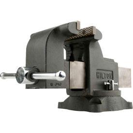 """Wilton 63300 Model WS4 4"""" Jaw Width 4"""" Opening 2-3/4"""" Throat Shop Vise W/Swivel Base"""