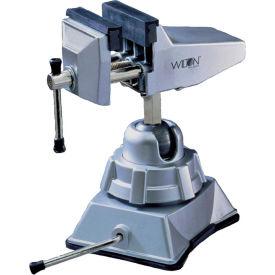 "Wilton 63500 Model 3VB 2-3/4"" Jaw Width 2-1/2"" Opening Vacuum Base Vise W/ Swivel Base"