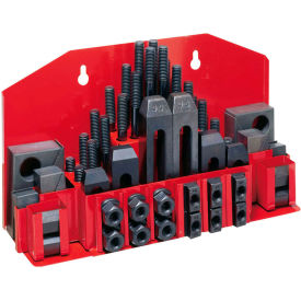 """JET® 52-pc Clamping Kit w/ Tray for 5/8"""" T-slot"""