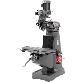 Jet 690006 JTM-2 Vertical Milling Machine W/X-Axis Powerfeed, 2 HP