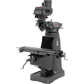 Jet 690013 JTM-4VS Milling Machine W/X, Y & Z-Axis Powerfeeds, 3 HP