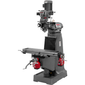 Jet 690017 JTM-2 Vertical Milling Machine W/X & Y-Axis Powerfeeds, 2HP, 230V, 1-Phase