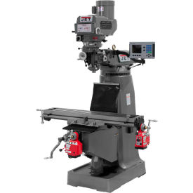 Jet 690140 JTM-4VS Milling Machine W/3-Axis Acu-Rite 200S DRO Quill, X & Y-Axis Powerfeeds