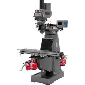 JTM-4VS Mill,ACU-RITE 200M DRO(Quill), X,-Z Powerfeeds/Power Drawbar Installed